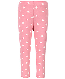 United Colors of Benetton Leggings Star Print - Pink