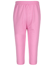 Baby League Solid Color Leggings - Pink