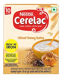 Nestle Cerelac Baby Cereal With Milk Wheat And Honey Stage 2 - 300 Gm