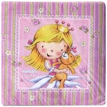 Riethmuller - Sweet Little Princess  Napkins
