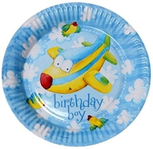 Riethmuller - Birthday Boy Plates