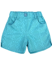 Campana Printed Shorts - Blue