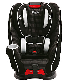 Graco Size4Me 65 Convertible Car Seat Rockweave - Black