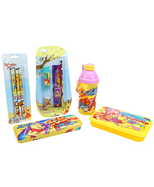 Winnie The Pooh School Kit Pack Of 5 - Yellow
