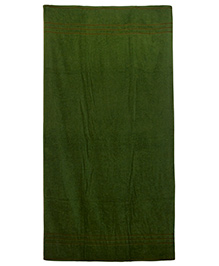 Sassoon Plain Dyed Bath Towel - Green