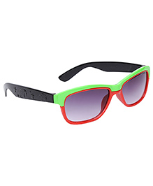 Kids Sunglasses Dual Color - Green And Red
