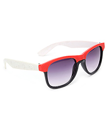Kids Sunglasses Red And Black