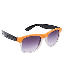 Kids Sunglasses Orange And Black