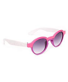 Kids Sunglasses Oval Frame - Pink And Purple