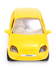 Centy Indica Car Toy With Openable Doors - White