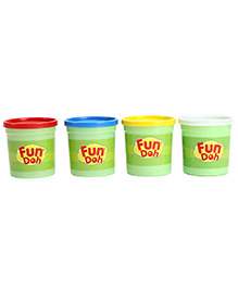 Funskool Jumbo Pack Of Color Play-Doh - 4 Color