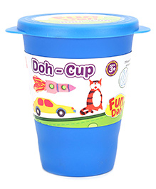 Fun Doh Play Dough Cup - Blue