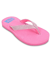 Cute Walk Slip-On Flip Flops - Pink