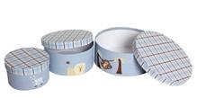 Round Storage Boxes - Safari