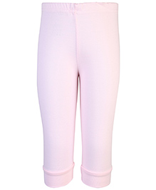 Babyhug Solid Pastel Color Leggings - Pink
