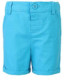 Beebay Plain Shorts - Turquoise