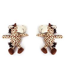 Curtain Holder Giraffe Soft Toy - Brown