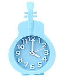 Kids Alarm Clock Guitar Shape - Blue