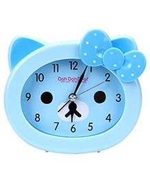 Kids Alarm Clock Ban Bear Print - Blue