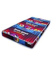 Coirfit Junior Fantasy Mattress Angry Birds Print Multicolour - L 75 X B 40 Inches