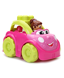 Mega Bloks First Builders Catie Convertible - Pink And Green