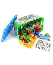 Mega Bloks First Builders Safari Blocks Set - 56 Pieces