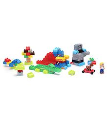 Mega Bloks Junior Builders Set - 100 Pieces