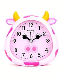 Cow Face Alarm Clock - White