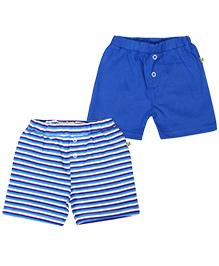 Buzzy Percy Short Set of 2 - Cobalt Blue