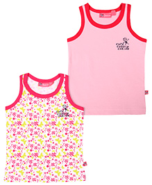 Buzzy Sleeveless Vest Pack Of 2 - Multi Color