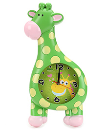 Alarm Clock Giraffe Shape - Green