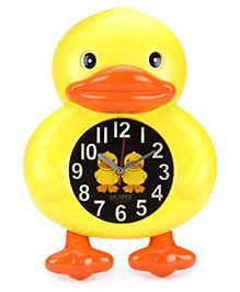 Alarm Clock Duck Shape - Yellow And Orange