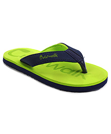 Cute Walk by Babyhug  Flip Flops - Green Navy