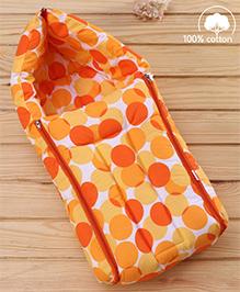Babyhug Sleeping Bag Polka Dots - Peach