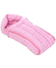 Babyhug Sleeping Bag Cut Orange Print - Pink