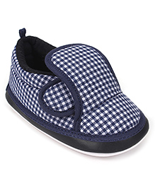 Little's Musical Shoes - Navy & White