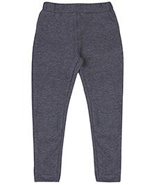 Pinehill Full Length Leggings - Stone Grey Melange