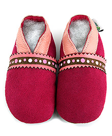Augusta Baby Pink Suede Shoes