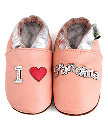 Augusta Baby Pink Love Grandma Shoes