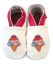 Augusta Baby White Ice-Cream Shoes