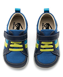 See Kai Run Blue Leather Trainer