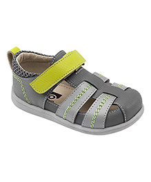 See Kai Run Grey Fisherman Sandal