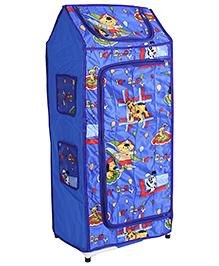 Lovely Multi Purpose Storage Unit Puppy Print - Blue