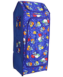 Lovely Multi Purpose Storage Unit Family Print - Blue