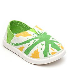 Cute Walk Casual Slip-On Shoes - Green