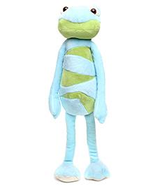 Play N Pet Frog Soft Toy Blue - Length 36 cm