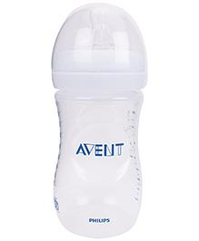 Avent Natural Plastic Baby Bottle - 260 ml