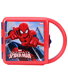 Spider Man Lunch Box With Handle - Red