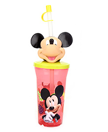 Mickey Mouse And Friends 3D Head Sipper Tumbler - 400 ml