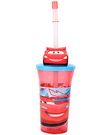 Disney Pixar Cars 3D Head Sipper Tumbler - 400 ml